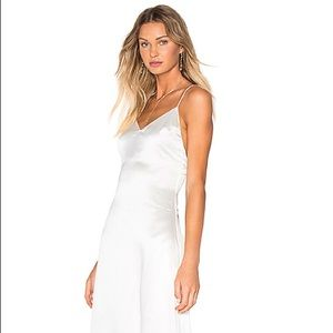 NWT Lovers + Friends Lydia slip dress in white